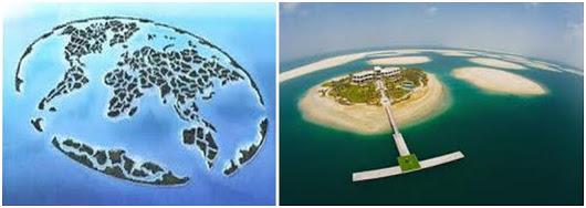 6 Pulau Buatan Terindah di Dunia