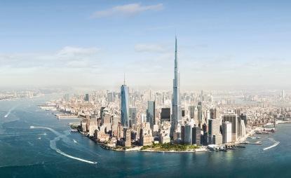 Burj Khalifa gedung tertinggi di dunia