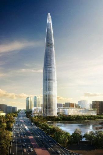 Lotte Super Tower gedung tertinggi di dunia
