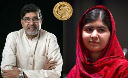 Malala Yousafzai dan Kailash Satyarthi peraih nobel perdamaian 2014