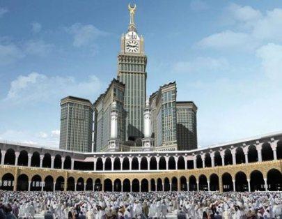 mecca clock tower gedung tertinggi 2015
