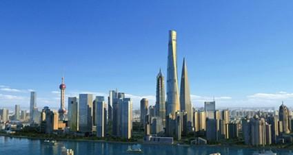 Shanghai Tower gedung tertinggi di dunia