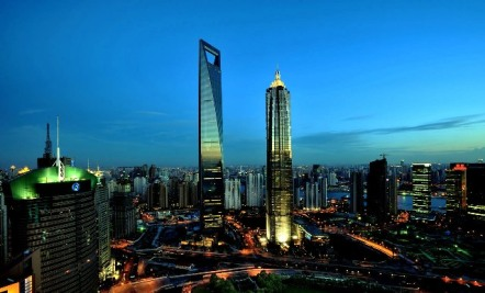 Shanghai World Financial Center gedung tertinggi di dunia