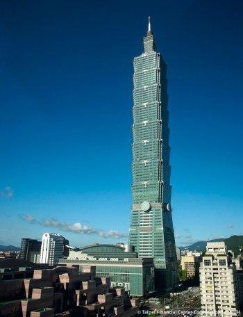 Taipei 101 gedung tertinggi di dunia 2015